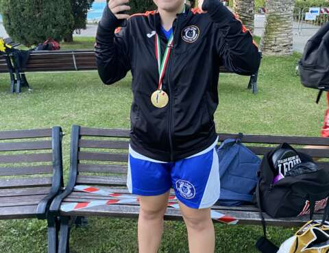 campionessa italiana junior milano